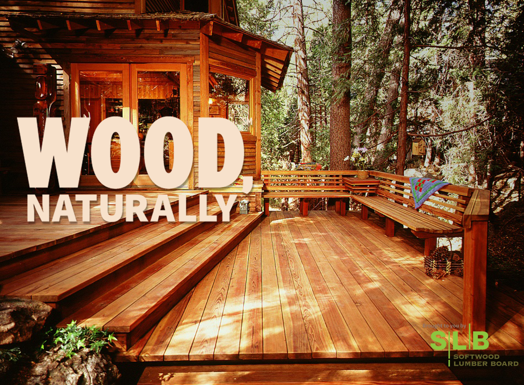 Wood, Naturally ad