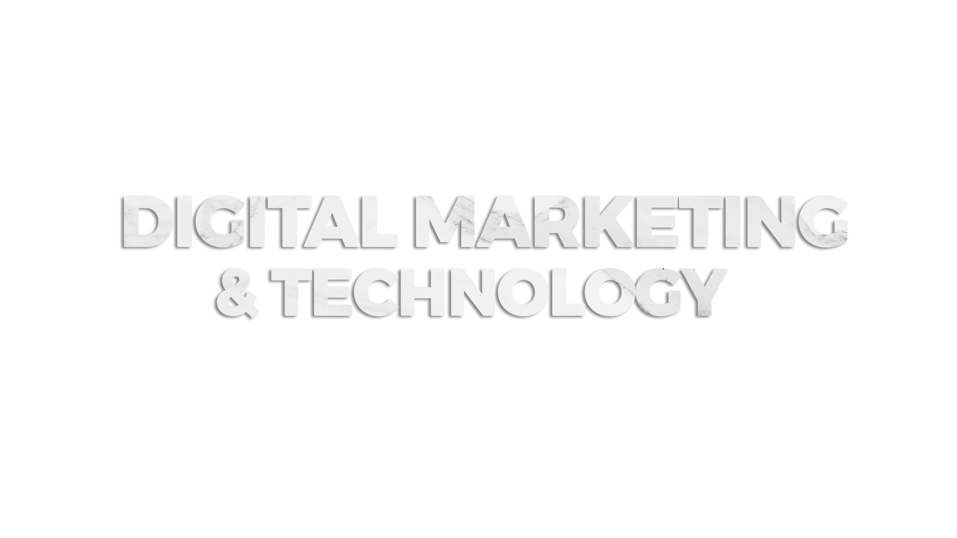 Digital marketing and technology